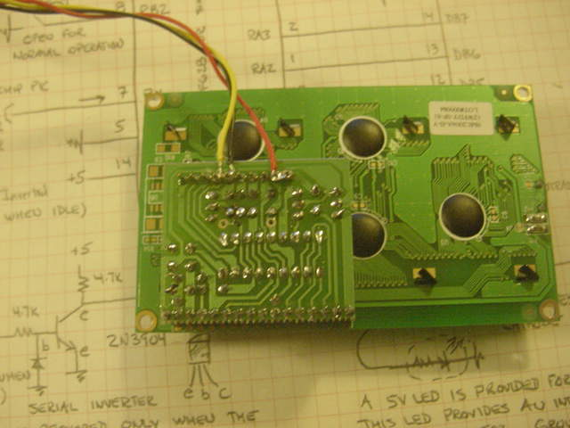 Assembled LCD #115
